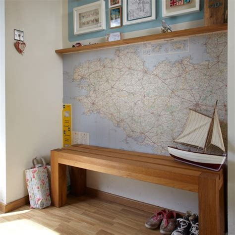 narrow hallway bench uk hallway with wooden bench hallway decorating