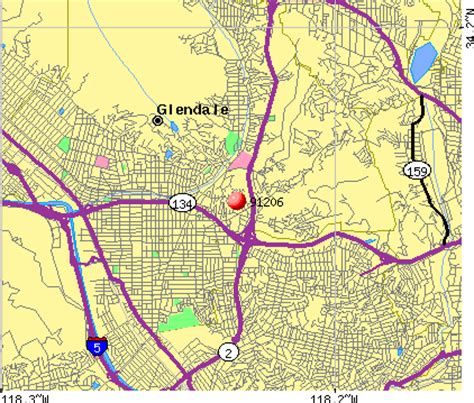 zip code map glendale ca 91206 zip code glendale california profile homes
