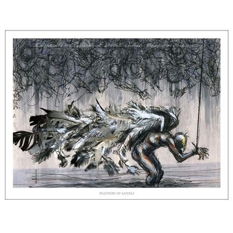 derek hess derek hess quot feathers of quot prints derek hess