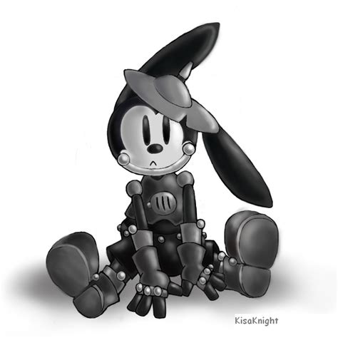 oswald the lucky rabbit by kisaknight on deviantart oswald the tin rabbit by kisaknight on deviantart