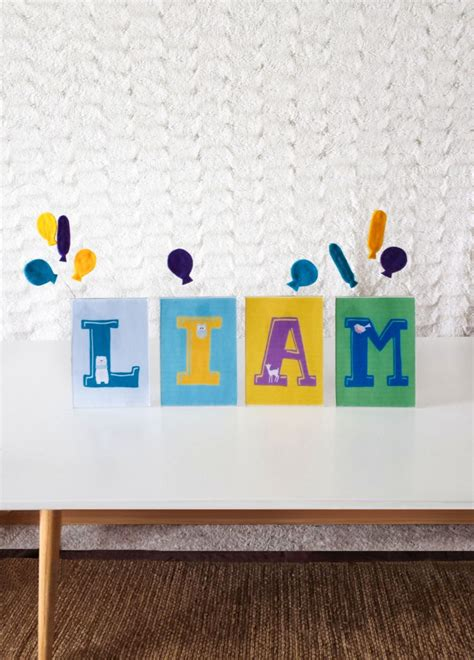 diy nursery decor nursery decor diy how to make one with the baby s name