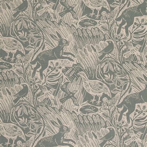 Kilim Upholstery Fabric Harvest Hare By Mark Hearld For St Jude S