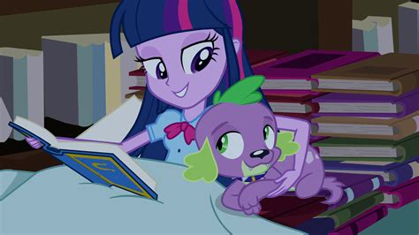 equestria girls twilight and spike my little pony la magia de la amistad equestria girls
