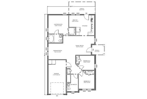 floor plans for tiny houses with simple design to make