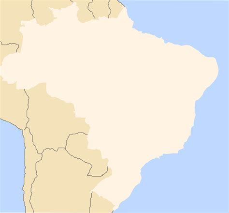 map of brazil with states brazil map with states