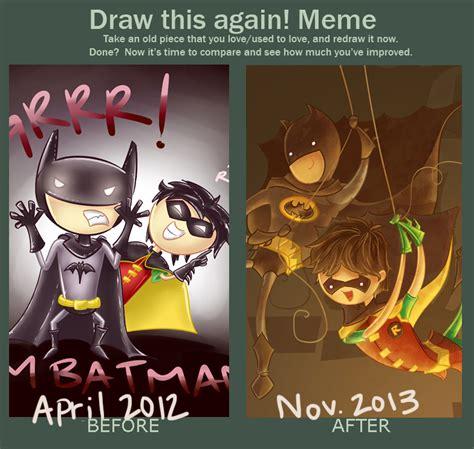Meme Batman Robin - artwork improvement meme batman and robin by codibear on deviantart