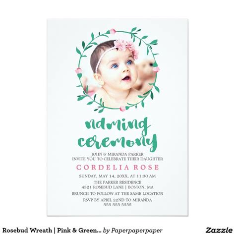 naming ceremony invitation template best 25 naming ceremony invitation ideas on