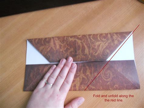 Origami Envelope For Gift Card - how to make an origami gift card envelope