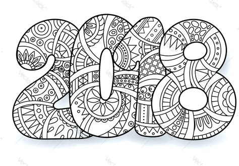Coloring Page Ideas by Bright Ideas Printable New Years Coloring Pages Happy Year