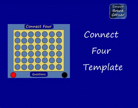 connect four template connect four template for smart board elementary tech coach