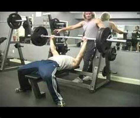 weight lifting bench press proper bench press grip for safety avoid accidents or