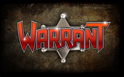 Rock Warrant Search Image Warrant Band Logo