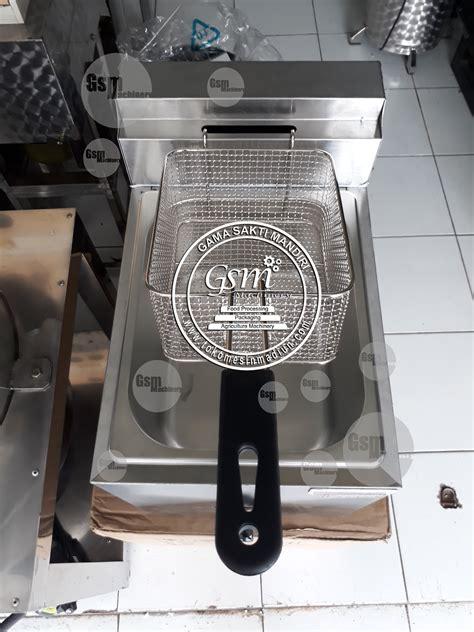 Fryer Gas 6 Liter Goreng Kentang Nugget Sosis Ayam Chicken mesin fryer listrik toko alat mesin usaha
