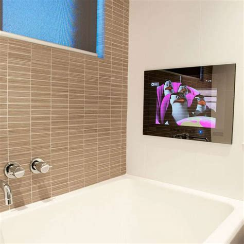 bathroom mirror with tv built in bathroom tv mirror tv for bathroom bathroom mirror tv