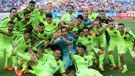 barcelona keluar dari la liga barcelona crowned la liga chions news al jazeera