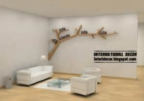 Cat Bookcase Modern Wall Shelves In Tree Branches Style Tree Shelves