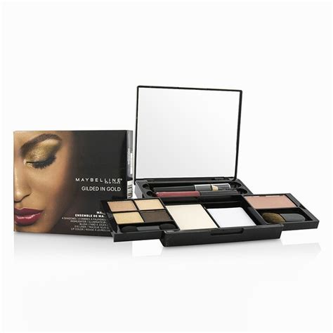 Maybelline Makeup Kit maybelline makeup kit 4x shadows 1x highlighter 1x