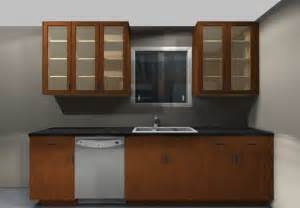 Ikea Small Kitchen Design doors give the effect of a more open space ideal for small kitchens