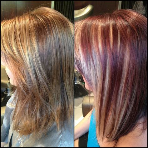 incredible dirty blonde hair with highlights inside amazing peekaboo highlights and color done by kelly at the