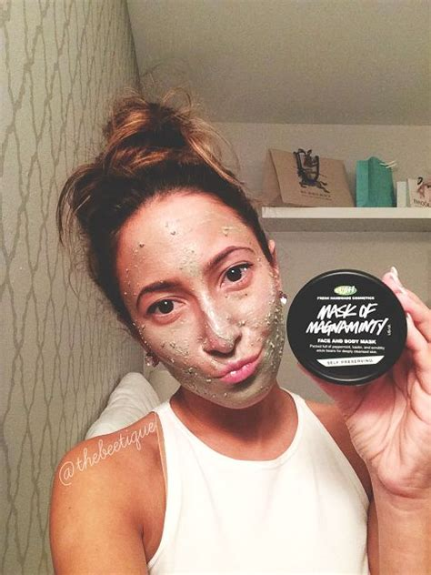 lush 187 mask of magnaminty review most amazing fresh