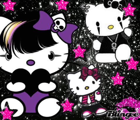 hello kitty punk rock wallpaper hello kitty punk picture 128740930 blingee com