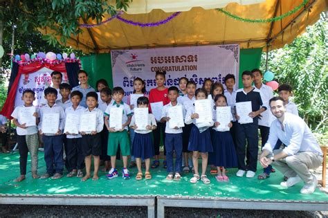 khmer new year student award ceremony children s future