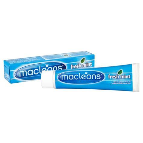 Macleans Teeth Toothpaste 4 6years macleans fresh mint toothpaste 100ml from ocado