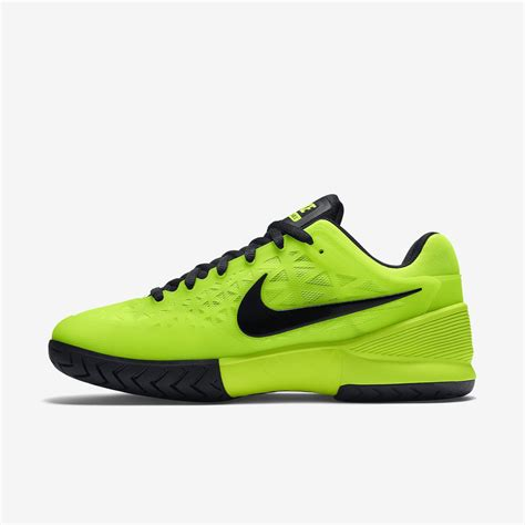 nike mens zoom cage 2 tennis shoes volt black
