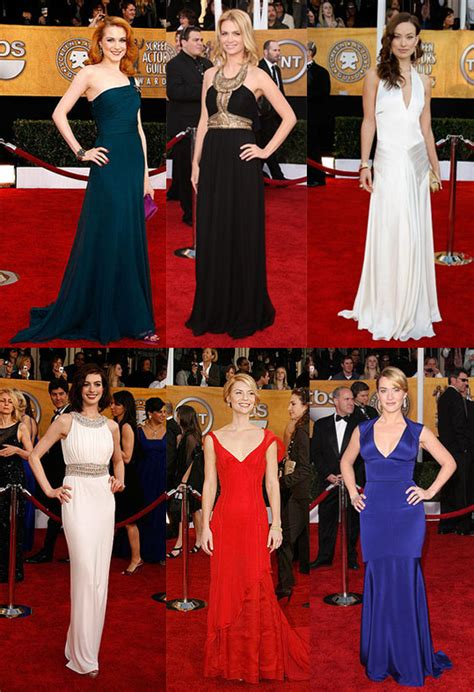 Screen Actors Guild Awards Best Dressed by Screen Actors Guild Awards Best Dressed Popsugar Fashion