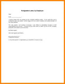 resignation letter work simple i hereby employee