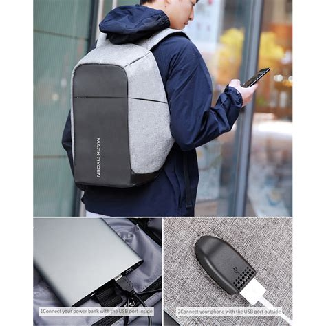 Tas Anti Maling Anti Thelypteridaceae Backpack ryden tas ransel anti maling dengan usb charger port mr5815zs black jakartanotebook