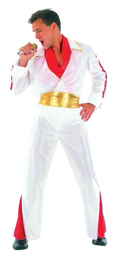 Dress Fast Hijau Army Blue Ac mens plus size white elvis fancy dress costume