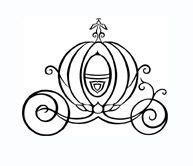 pumpkin carriage coloring page cinderella pumpkin carriage outline cinderella pumpkin