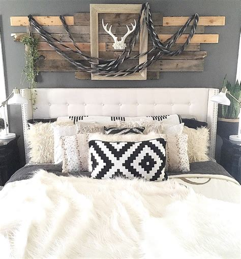rustic boho chic master bedroom home sweet home home