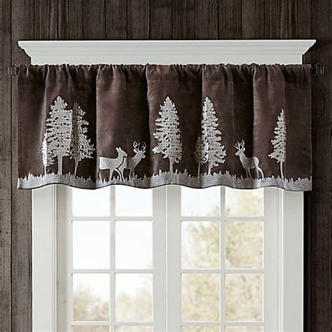 woolrich bedding discontinued woolrich tree faux suede valance bed bath beyond