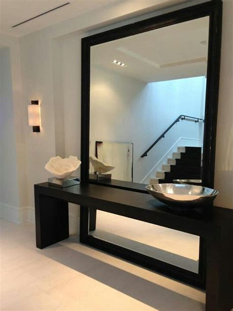 contemporary mirrors for living room best 25 modern entryway ideas on pinterest
