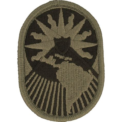 us army military unit patch iraq army unit patch us southern command southcom us army