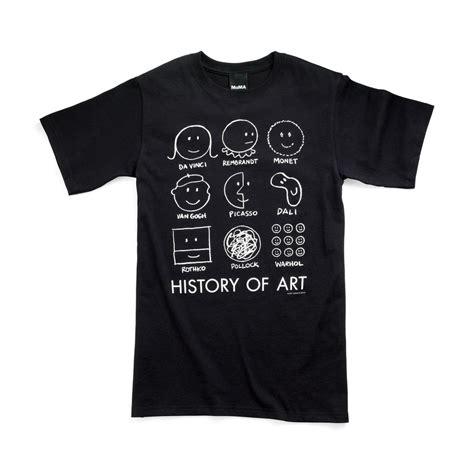 design history shirt history of art t shirt moma design store