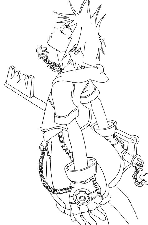 kingdom hearts coloring pages sora sora coloring pages coloring pages