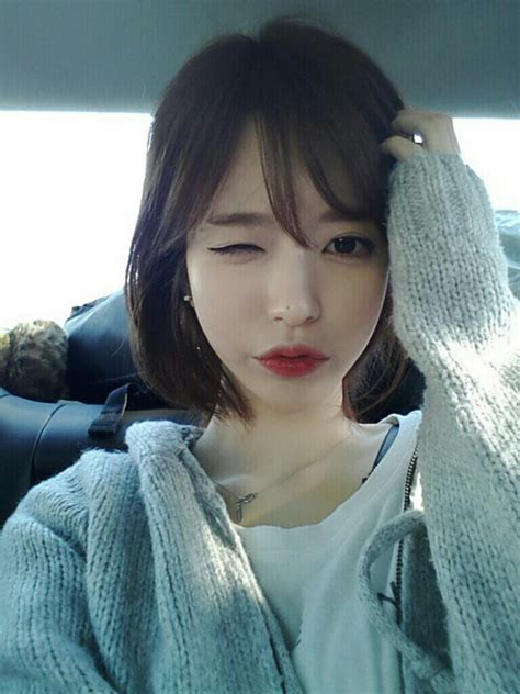 Korean Hair Short Back Pic - her lip shape is gorgeous pinteres