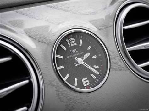 mercedes dashboard clock mercedes benz s63 amg w222 2014 iwc schaffhausen