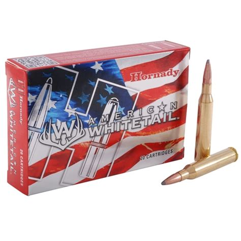 Hn Original 100 30gr hornady american whitetail 30 06 springfield ammo 150 grain sp