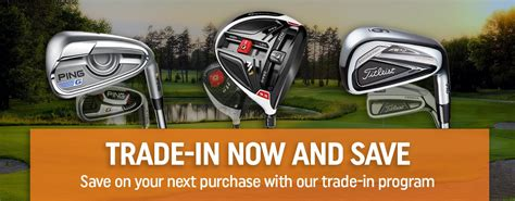 2nd swing trade in used golf clubs apparel shoes gps new equipment