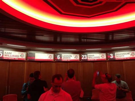ohio state locker room why lebron has a locker in ohio state s new basketball facility