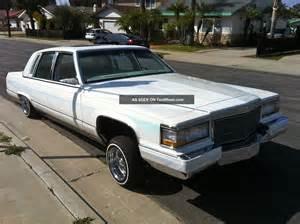 92 Cadillac Fleetwood Brougham 1991 Cadillac Fleetwood Brougham D Elegance 5 7l