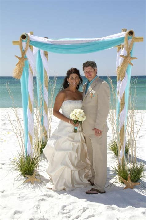 25  best ideas about Beach wedding arbors on Pinterest