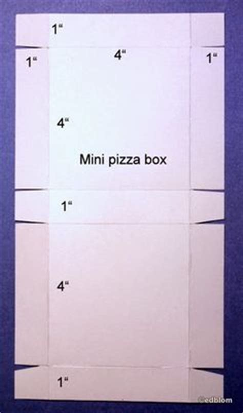 How To Make A Pizza Box Out Of Paper - pizza box i will do this and the tmnt pics on the