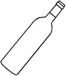 Verre De Vin A Colorier L L L L