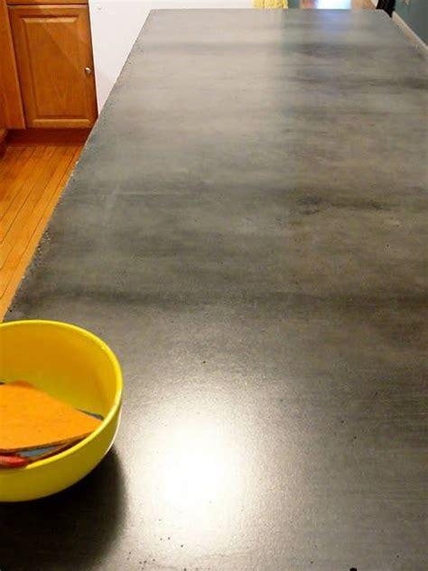 Beton Tischplatte Polieren by The Ultimate Weekender Diy Concrete Countertops