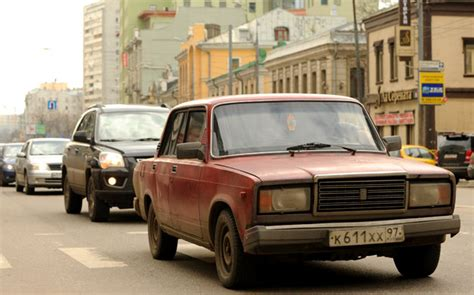Lada Russia Lada 2107 Reaches The End Of Its Road